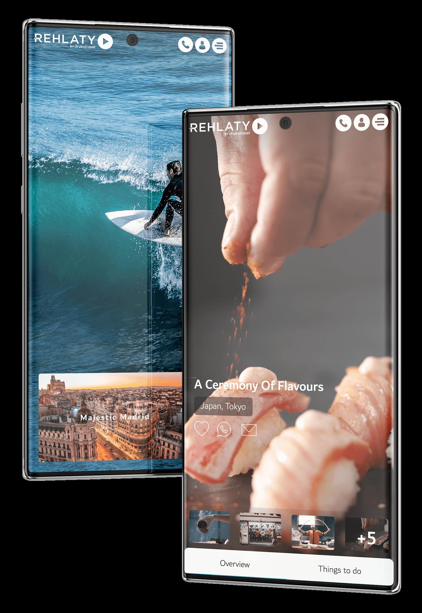 Rehlaty Mobile UI